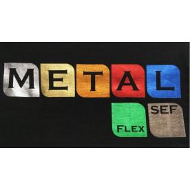 SEF Metalflex - mit Metal-Effekt 50cm x 100cm