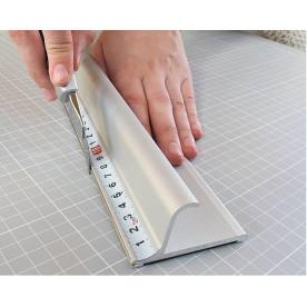 Alu Schneidelineal Fingerschutz 55cm und 75cm