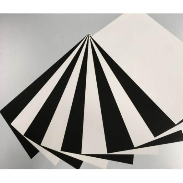 Plotterfolien Set Black & White
