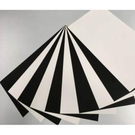 Plotterfolien Sets verschiedene Black & White