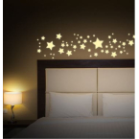Nachtleuchtende Klebefolie