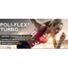 Poli Flex Turbo 130 °C / 3 Sec. 30cm x 50cm